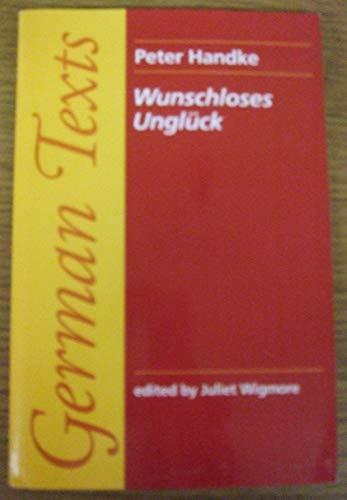 9780719034916: Wunschloses Ungluck