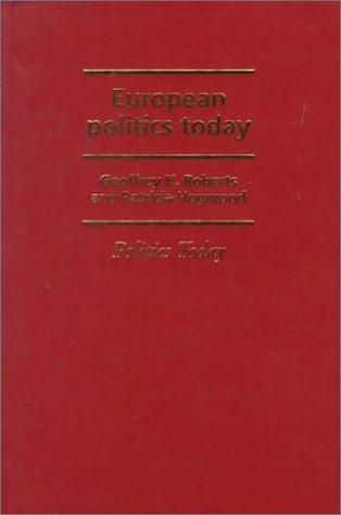 9780719043628: European Politics Today