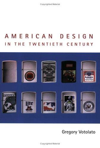 9780719045318: American Design in the Twentieth Century (Studies in Design and Material Culture)