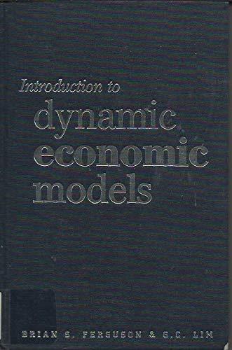 9780719049965: Introduction to Dynamic Economics Models