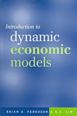 9780719049972: Introduction To Dynamic Economic Models