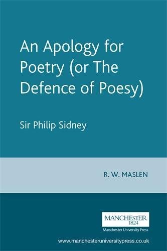 9780719053757: An Apology for Poetry: Or the Defence of Poesy