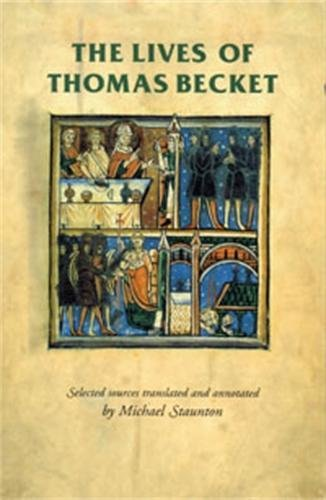 9780719054549: The Lives of Thomas Becket