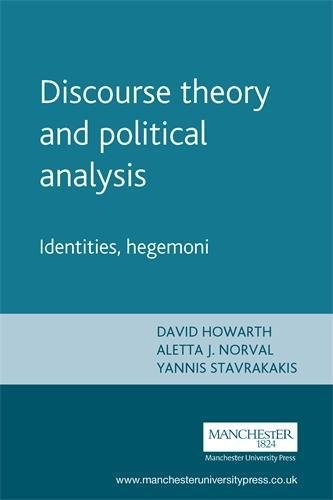 9780719056635: Discourse Theory and Political Analysis: Identities, Hegemonies and Social Change