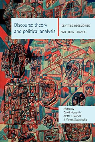 9780719056642: Discourse theory and political analysis: Identities, hegemoni