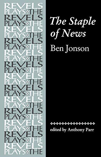 9780719059063: The Staple of News (Revels Plays MUP)