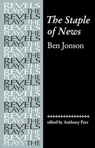 9780719059063: The Staple of News by Ben Jonson