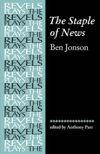 9780719059063: The Staple of News (The Revels Plays)