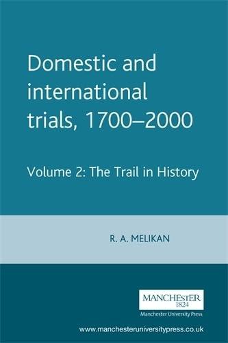 Domestic and International Trials 1700-2000 (v. 2)