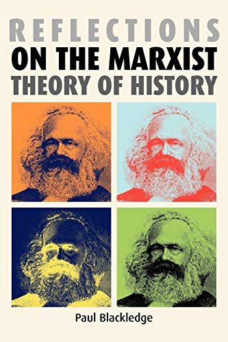 9780719069574: Reflections on the Marxist Theory of History