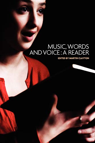 9780719077883: Music, words and voice: A reader