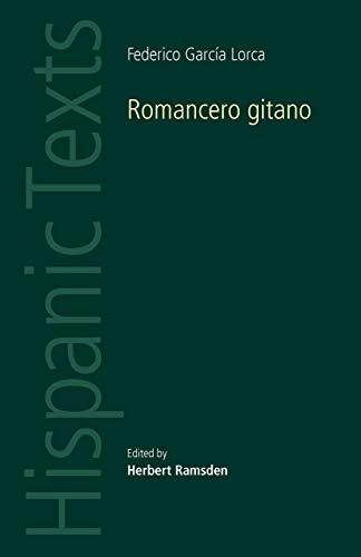 9780719078255: Romancero Gitano by Federico Garcia Lorca (Hispanic Texts)