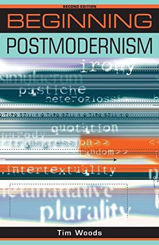 9780719079962: Beginning Postmodernism (Beginnings)
