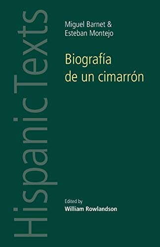 9780719080913: Biografia de un Cimarron / Biography of a Cimarron: By Miguel Barnet and Esteban Montejo