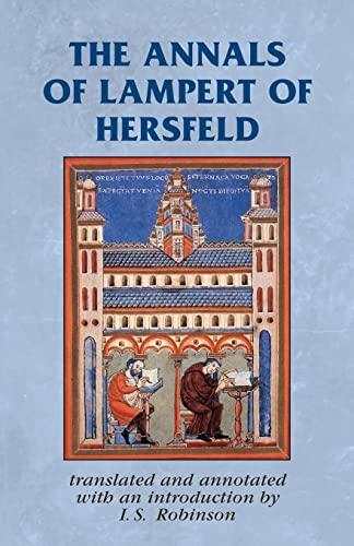 9780719084386: The Annals of Lampert of Hersfeld