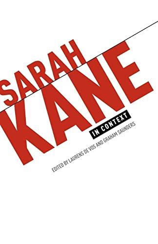9780719086458: Sarah Kane in Context