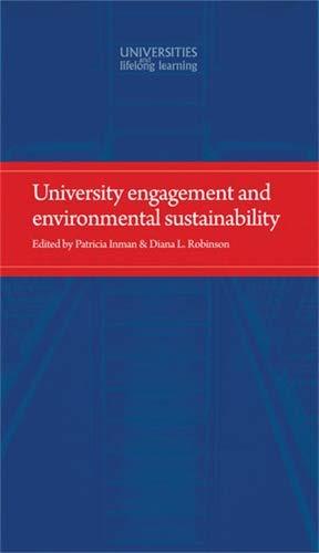 9780719091629: University engagement and environmental sustainability
