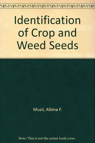 9780719400537: Identification of Crop and Weed Seeds