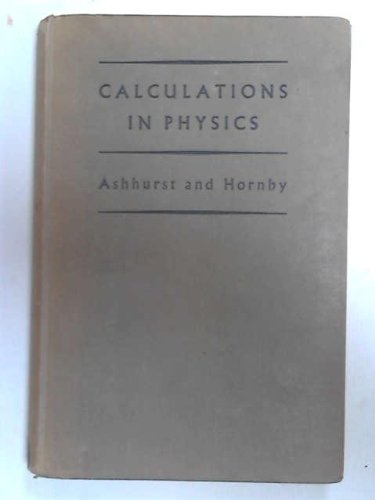 9780719500503: Calculations in Physics