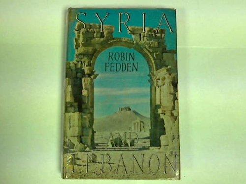 9780719504228: Syria and Lebanon