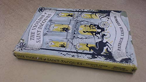 9780719504280: The Violins of Saint-Jacques