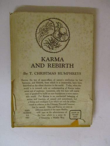 9780719506840: Karma and Rebirth (Wisdom of the East)