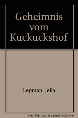 9780719508219: Geheimnis vom Kuckuckshof