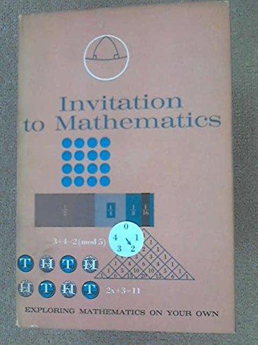 9780719516566: Exploring Mathematics on Your Own: Invitation to Mathematics Pt. 1