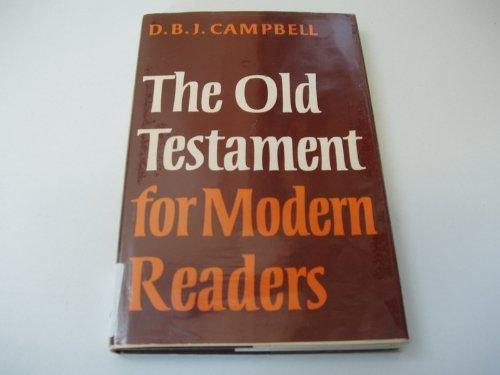 9780719522758: Old Testament for Modern Readers