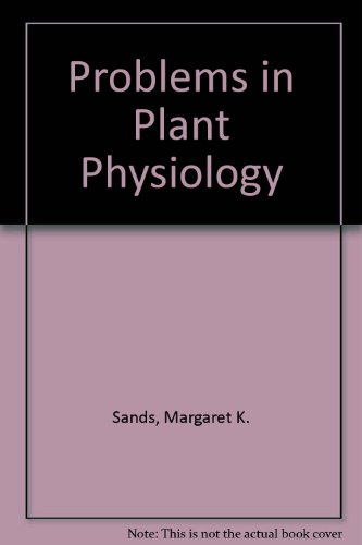 9780719523182: Problems in Plant Physiology