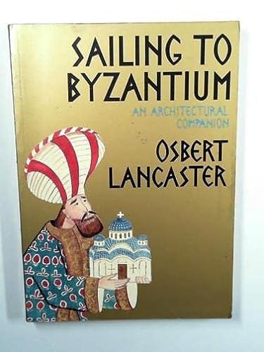9780719527159: Sailing to Byzantium
