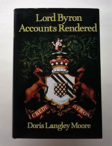 9780719530951: Lord Byron: Accounts Rendered
