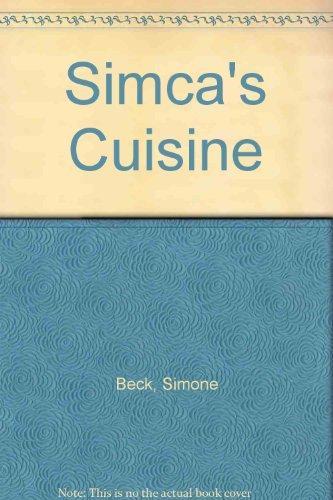 9780719531767: Simca's Cuisine