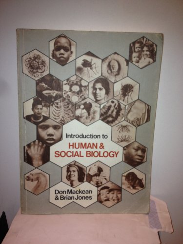 9780719532092: Introduction to Human and Social Biology