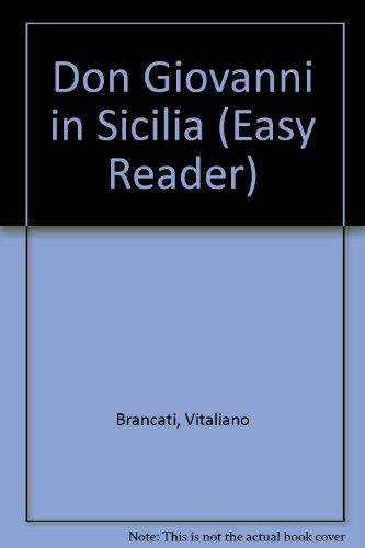 9780719534546: Don Giovanni in Sicilia (Easy Reader)