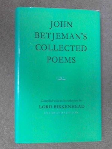 John Betjeman's Collected Poems: John Betjeman,Lord Birkenhead