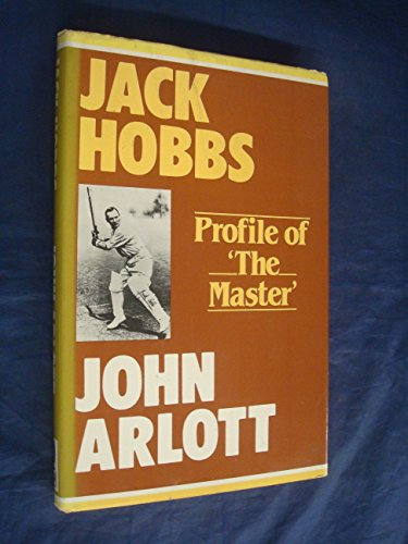 9780719538865: Jack Hobbs: Profile of