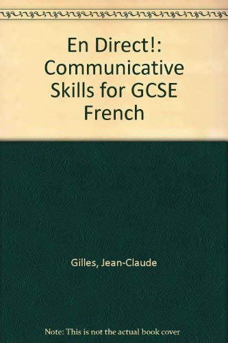 9780719543708: En Direct!: Communicative Skills for GCSE French
