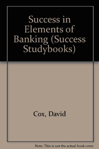 9780719545283: Success in Elements of Banking (Success Studybooks)