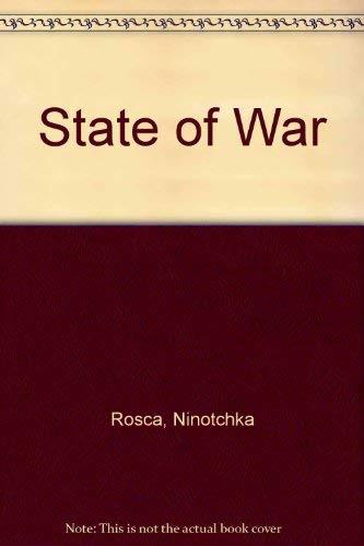 9780719546280: State of War