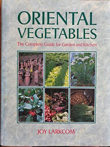 9780719547812: Oriental Vegetables