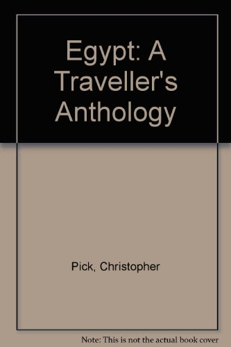 9780719550874: Egypt: A Traveller's Anthology