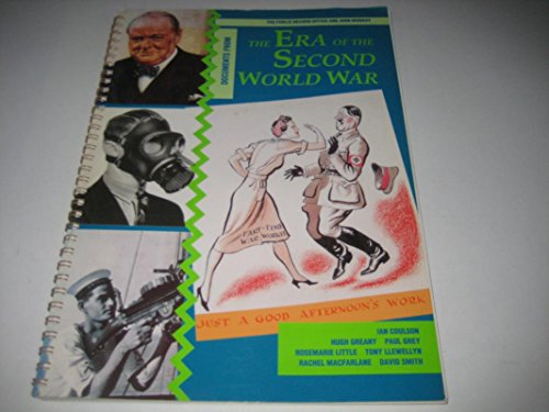9780719552366: Documents from the Era of the Second World War (PRO Sourcebooks)