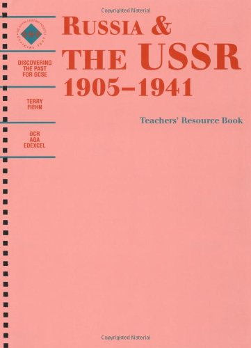 9780719552564: Russia and the USSR, 1905-1941, Teacher's Book (Discovering the Past for GCSE)