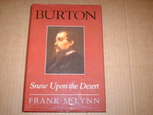 9780719552809: Burton: Snow Upon the Desert