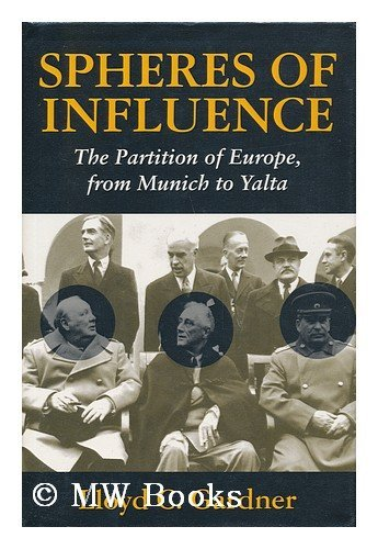 9780719553110: Spheres of Influence the Partition of Eu