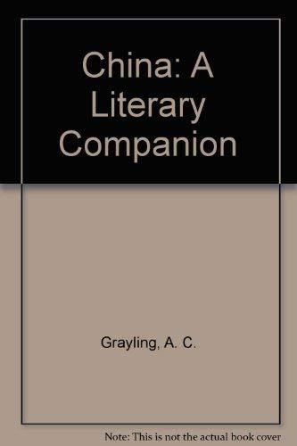 9780719553530: China: A Literary Companion
