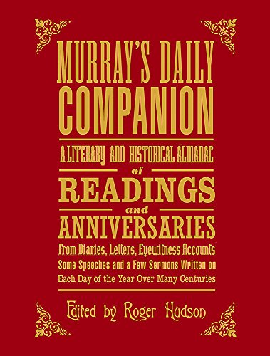 Murray's Daily Companion (0719567440) by Hudson, Roger