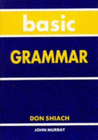 9780719570285: Basic Grammar