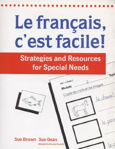 9780719571008: Francais, c'est Facile!: Strategies and Resources for Special Needs